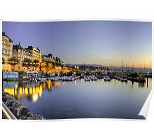Geneva Bains des Paquis Boat Parc Poster