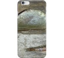 Old Coin Penny iPhone Case/Skin