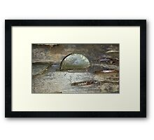 Old Coin Penny Framed Print