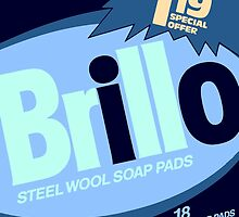 Brillo Box Package Colored 76 - Andy Warhol Inspired by peterpotamus