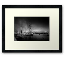 Deep Winter Framed Print