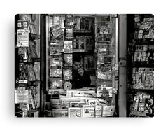 _ the daily news _ Canvas Print