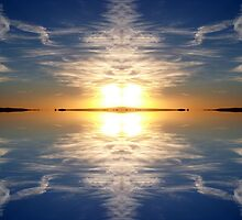 Sky Reflected by trish725