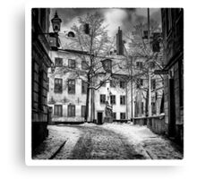 Old Town Stockholm Canvas Print