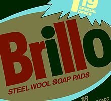 Brillo Box Package Colored 77 - Andy Warhol Inspired by peterpotamus
