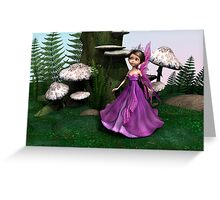 Fairy in Woodland Greeting Card