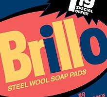 Brillo Box Package Colored 81 - Andy Warhol Inspired by peterpotamus