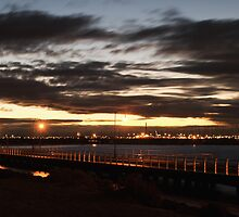 St Kilda Pier at Dusk by Hicksy