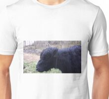 Cuddly Cow Face Unisex T-Shirt