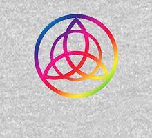 Rainbow Triquetra Long Sleeve T-Shirt