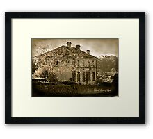 The Villa Parma at Hepburn Springs Framed Print