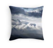 Stormclouds over Carneddau Throw Pillow
