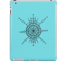 Geometric Flower Wheel iPad Case/Skin