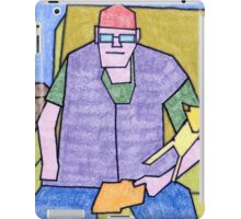 Bill Senior & Junior iPad Case/Skin