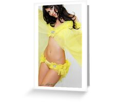 Pollen Panties Greeting Card