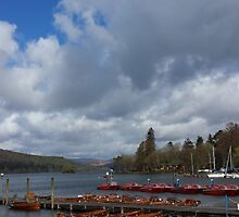 Lake Windermere Canoes by loubylou2209