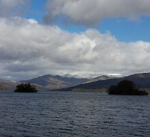 View of Lake Windermere by loubylou2209