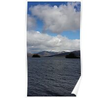 View of Lake Windermere Poster
