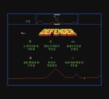 Classic 80's arcade games: Defender by David Anderson