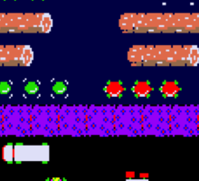 Classic 80's arcade games: Frogger Sticker