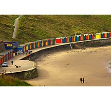 Beach Huts - Whitby Photographic Print