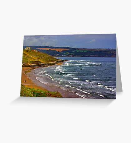 Whitby to Sandsend Greeting Card