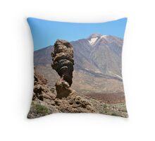 Mount Teide Throw Pillow