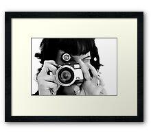 Say Cheese! Framed Print