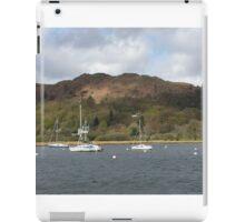 Boats Lake Windermere iPad Case/Skin