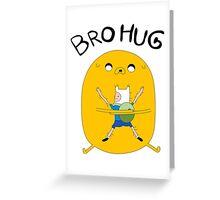 BRO HUG! Greeting Card