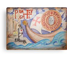 The Order of Christ and the Portuguese Discoveries Canvas Print