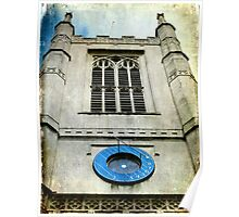St Margaret's Church Tower & Sundial  Poster