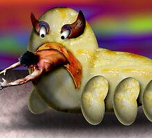 Scrambled Egg Monster by GolemAura