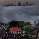 Blanket Morning - Moods Of A City  by Philip Johnson