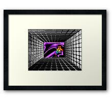 """Cartoons at the Multiplex"" Framed Print"