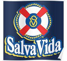 Salva Vida Cerveza - Beautiful Central American Beer of Honduras Poster
