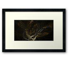 'Golden Bouquet' Framed Print