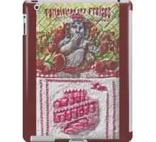 """Exclusive: """" Strawberry jam gourmet """" / My Creations Artistic Sculpture Relief fact Main 32  (c)(h) by Olao-Olavia / Okaio Créations iPad Case/Skin"""