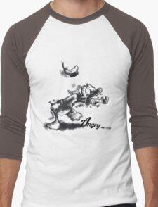 The Angry Duck Men's Baseball ¾ T-Shirt