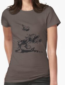 The Angry Duck Womens Fitted T-Shirt
