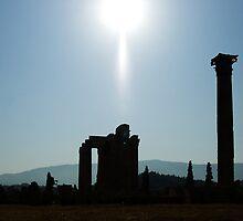 Zeus Temple Silhoette by Michael Jordan