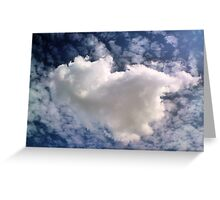Fluffy Clouds Greeting Card
