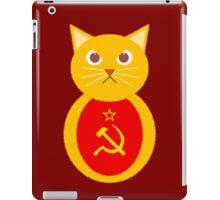 Commie cat iPad Case/Skin