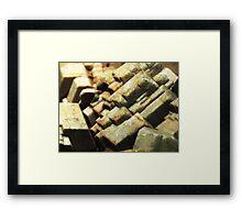 The Hidden Land - Sleeping Giants Framed Print