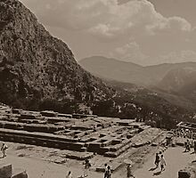 Delphi Panorama by Michael Jordan