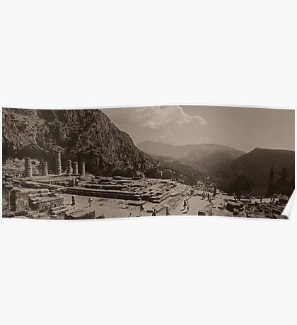 Delphi Panorama Poster