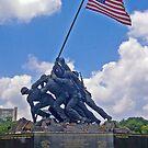 *U.S.M.C. War Memorial* by Van Coleman