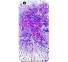 Blackcurrant bubble gum iPhone Case/Skin