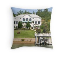 Luxury Living Throw Pillow