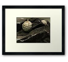 The Hidden Land - Starfall Mountain Framed Print